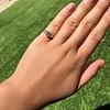 1.15ctw Emerald Cut Diamond Trilogy Ring 16