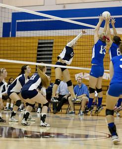 09-16-2010 Vista vs Folsom Volleyball