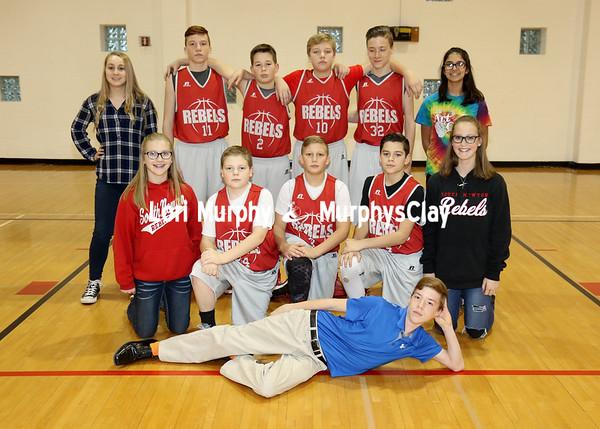 SNMS Boys Basketball 7-8 Team 2016