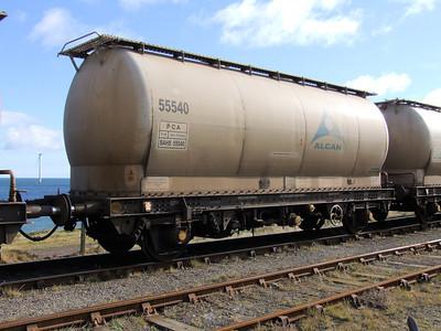 PCA (BAHS) - 2 Axle Alumin Tank Wagon