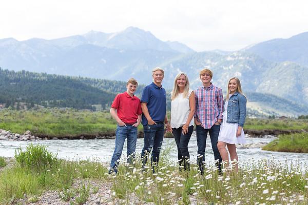 Higdon Family - Big Sky, Montana