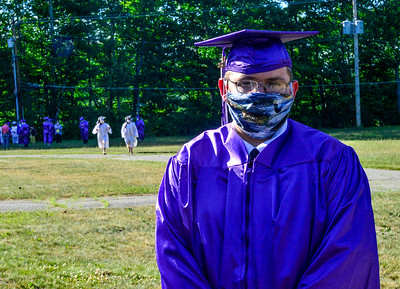 Bellows Falls graduation and parade - 061820