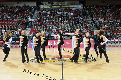 2012 Basketball Halftime Dance