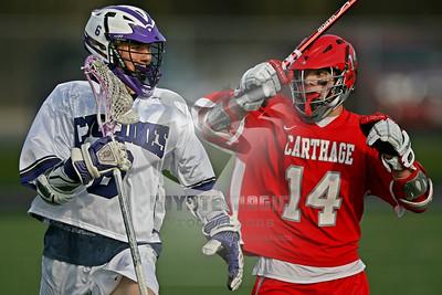 4/18/2013 - VARSITY - Carthage vs. Watertown - Watertown High School, Watertown, NY