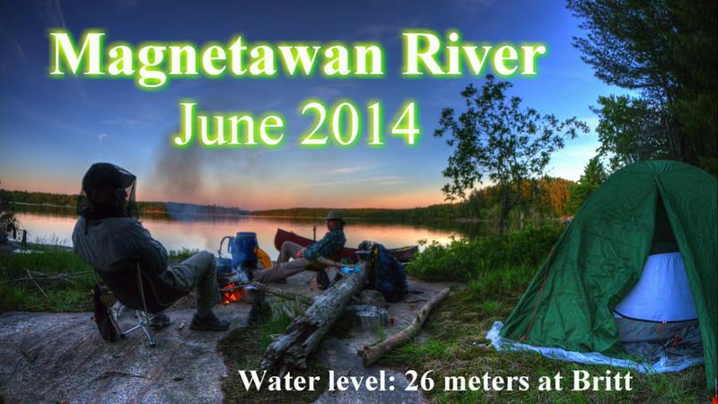 Magnetawan River June 2014.mp4