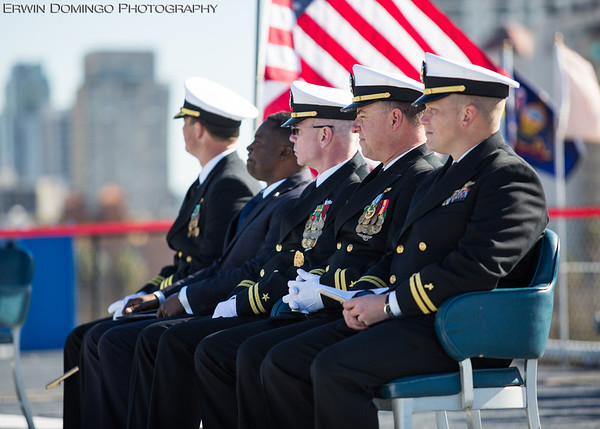 John Rankin's Naval Retirement Ceremony