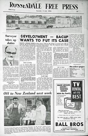 Free Press, 1966, July - December