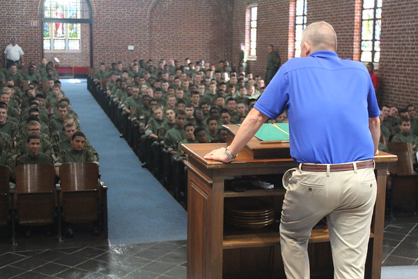 Colonel Coggins' (FUMA President) Briefs Corps