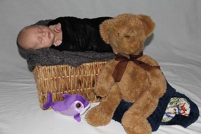 Aaron 7 weeks old