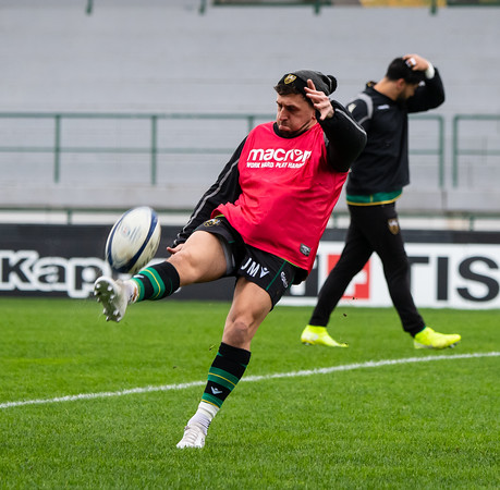Benetton Rugby Treviso vs Northampton Saints, Heineken Champions Cup, Stadio Comunale di Monigo, 23 November 2019