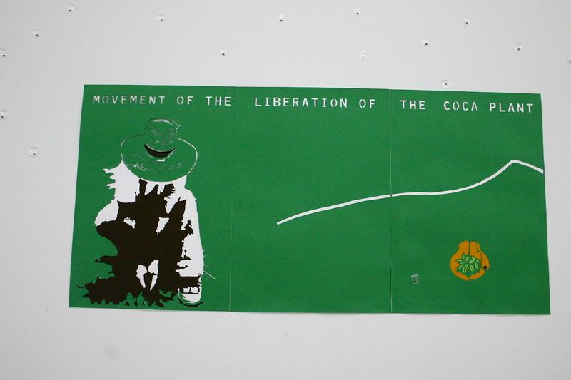 31. Wilson Díaz, con Leonardo Herrera. Banco de semillas, Instalación, 7 Encuentro Instituto Hemisférico de Performance y Política, Museo de Arte Universidad Nacional, Bogotá, 2009.