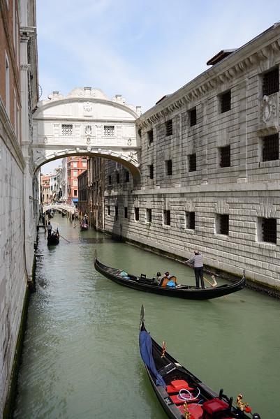 Ponte dei Sospiri - Venice, Italy - April 18, 2014