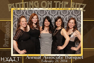 February 21, 2014 - Hyatt Bellevue Associate Banquet