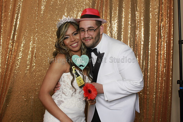 Shailyn & Marvin's Wedding PhotoBooth
