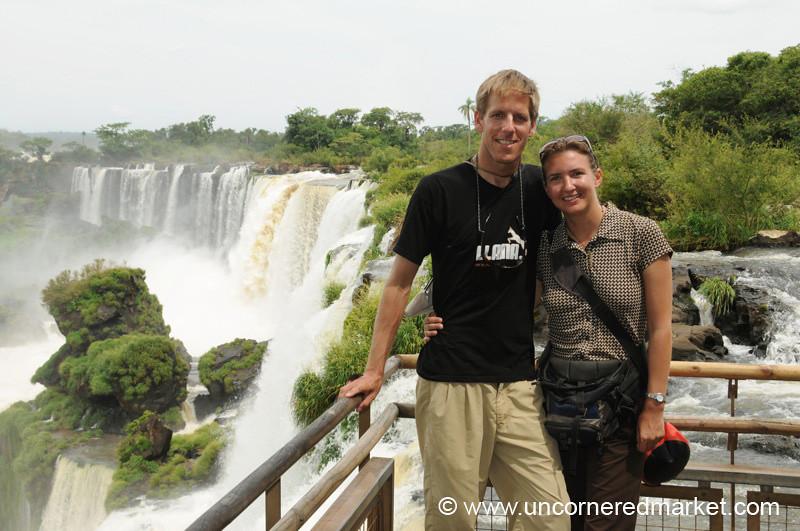 Uncornered Market at Iguazu Falls - Argentina