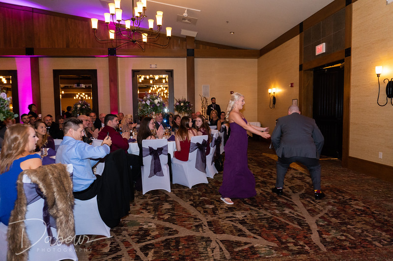 Marth wedding reception