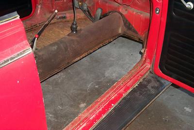 1966 VW Bug Floor Replacement