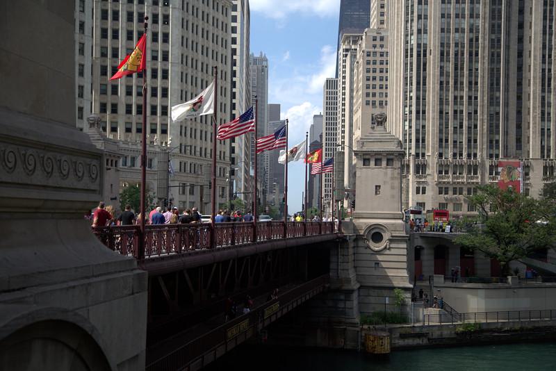 Michigan Avenue from the River