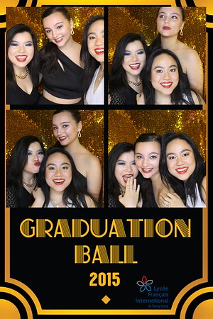 French International School - Grad Ball 2015