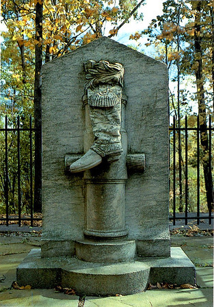 """Boot Monument"""