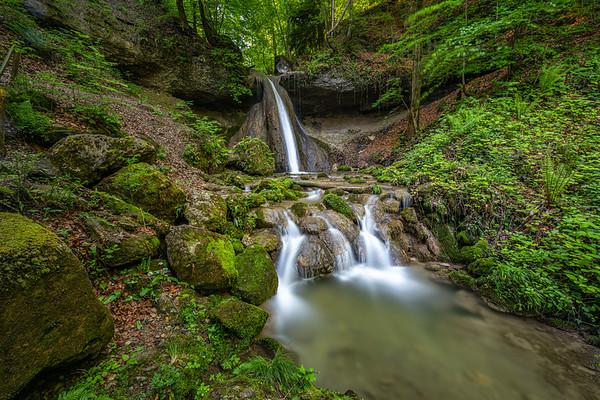 Schwarzenbach Wasserfall - Ruine Wildenberg (2019-06-01)