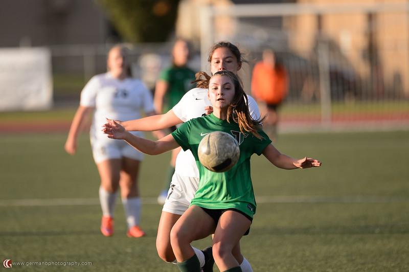 THS Girls JV Soccer vs Tualatin