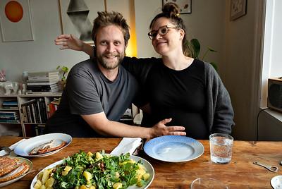 Middag hos Ayoe og Anthon 2019