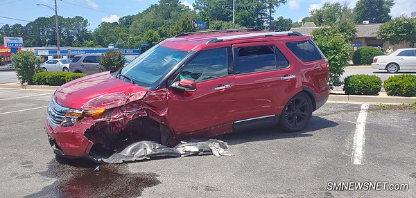 6/20/19 Police Chase Results in Crash on Great Mills Road