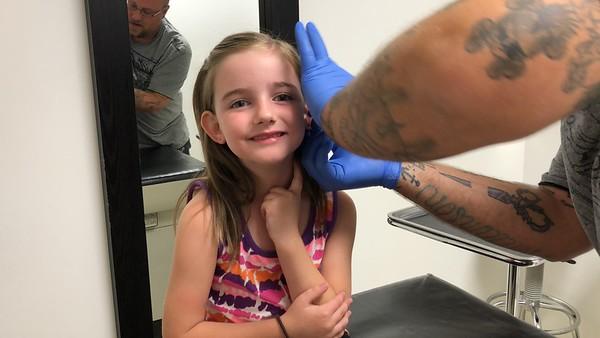 Alice Gets Her Ears Pierced