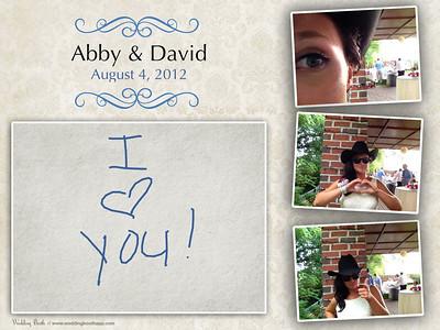 Abby & David (Photobooth)