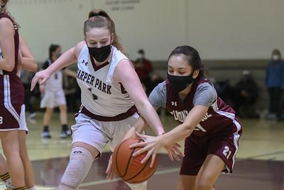 2021.02.28 Girls Basketball: Harper Park @ Belmont Ridge