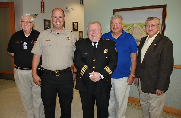 2016-07-07 - Village Board Meeting - Sgt. Radtke Swearing In