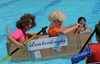 Cardboard Boat Regatta 6/16/16
