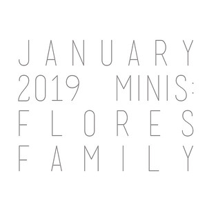 January 2019 Minis: Flores Family