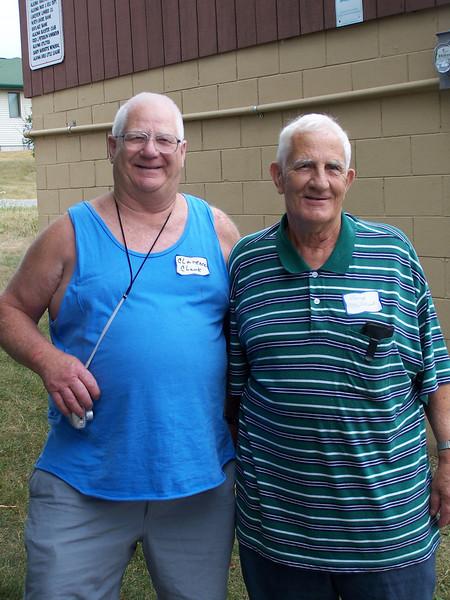 Clarence & Harvey Clark- 2005 Clark Reunion, Algoma