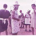 Andrada 1967 nos campos de jogos em frente as Oficinas Tomaz,  Julio Amaro, Miguel Martins, Caceiro
