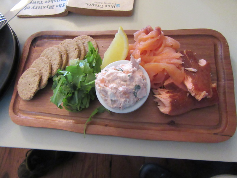 Amazing lunch at Corrour Station!