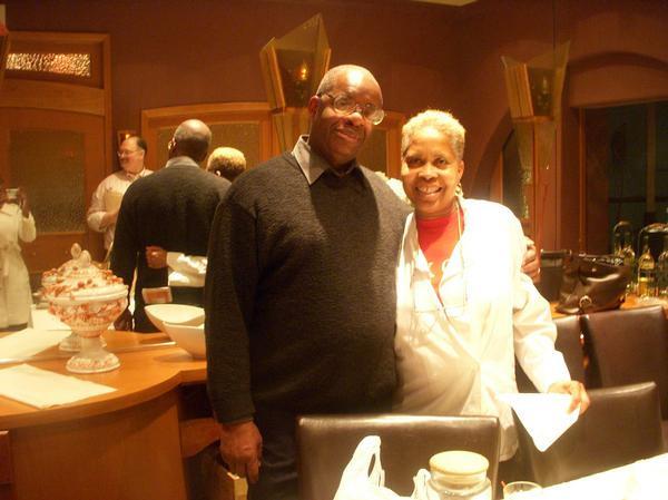 Gregory Burrus with Yanick Restaurant Owner Papillon 25 - Valley St South Orange, NJ .jpg