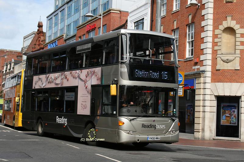 1108, YN08MMA, Reading Buses, Friar Street.