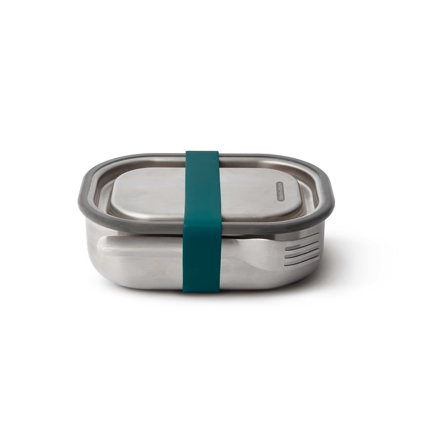 Stainless Steel Lunch Box ocean Black Blum