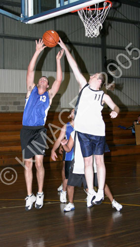 Tuesday night Senior Men 26-4-05