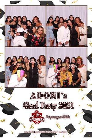 Adoni's Grad Party 2021