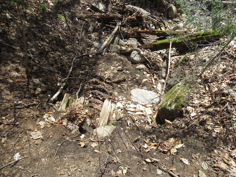 I saw this on both sides of the trail, some kind of culvert.JPG