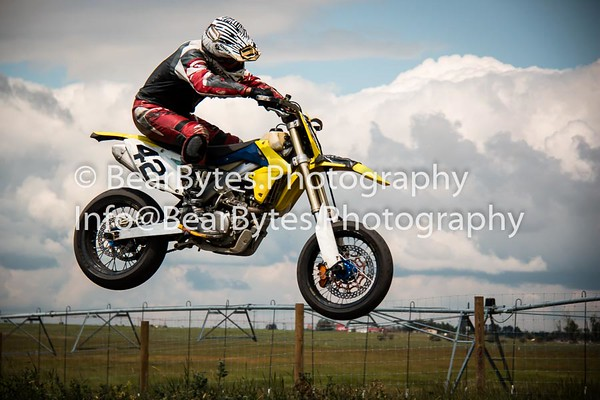 AMRA Motorcycle Race Strathmore
