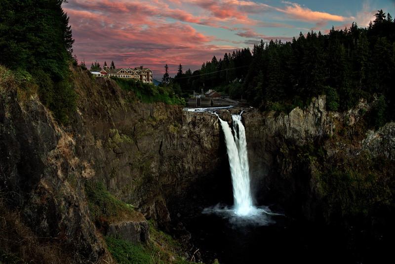 Snoqualmie, Snoqualmie Falls, Washington