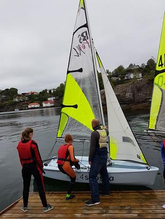 2019-05 Seiling med Ungdomsgruppen