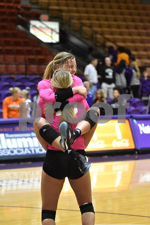 2017 NSU v Sam Houston Volleyball II of II