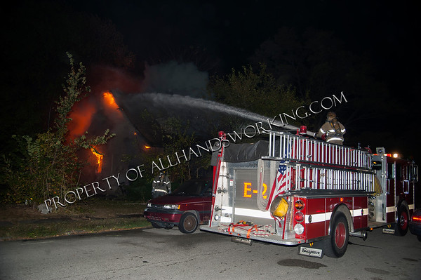 Detroit 13134 Sunset vacant dwelling fire