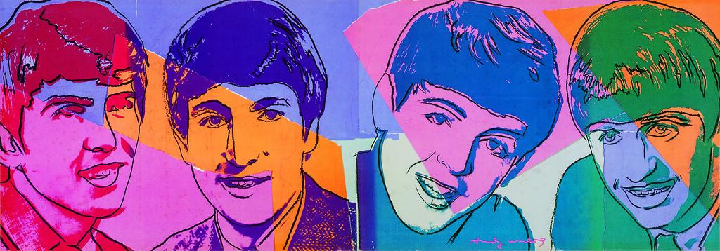 "Andy Warhol, ""The Beatles"" (u.d.)"