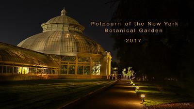 2017 Potpourri NYBG